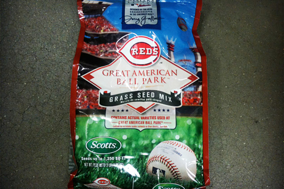 Scotts MLB Authentic Collection Grass Seed