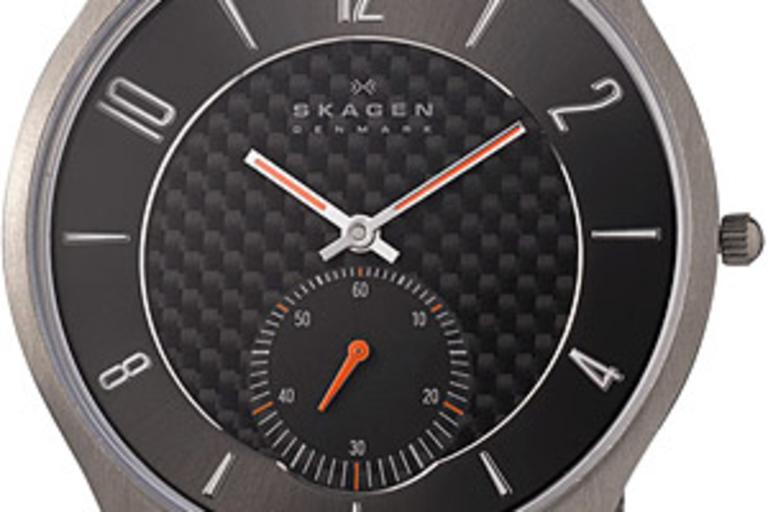 Skagen Titanium Mesh Strap Watch