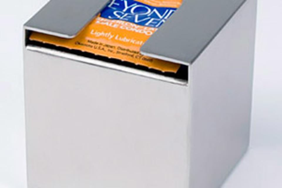 Stainless Steel Condom Dispenser