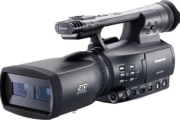 Panasonic Pro Twin-Lens 3D Camera