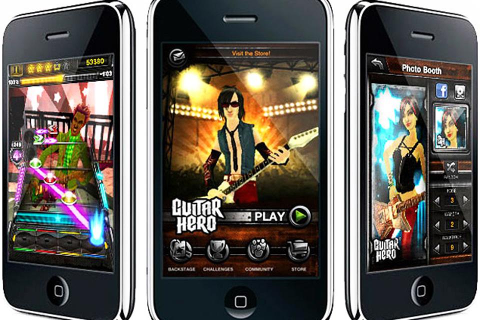 Guitar Hero for iPhone