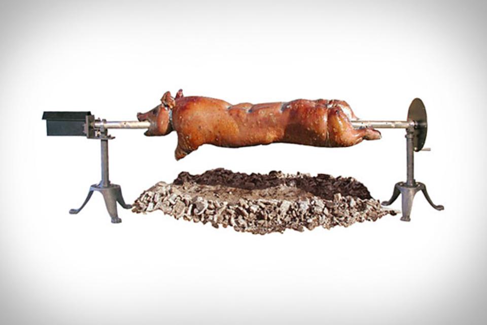 SpitJack Beast Whole Hog Rotisserie