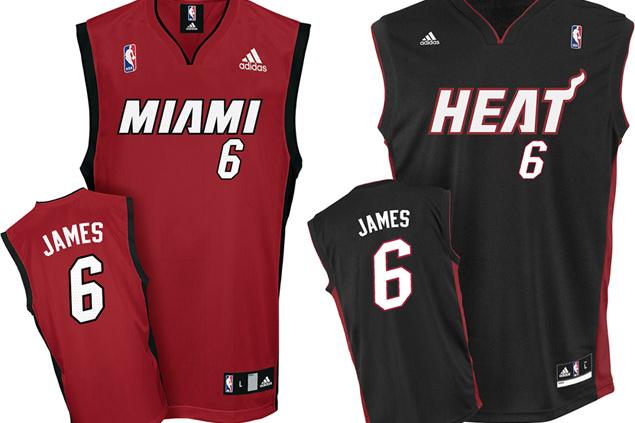 LeBron James Miami Heat Jersey