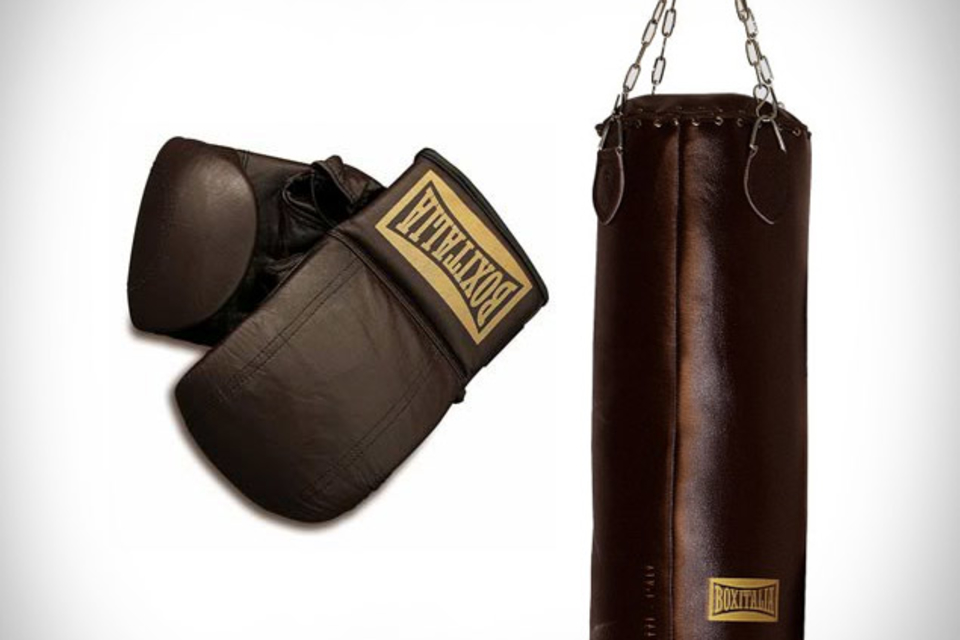 Seletti Boxitalia Punching Bag & Boxing Gloves