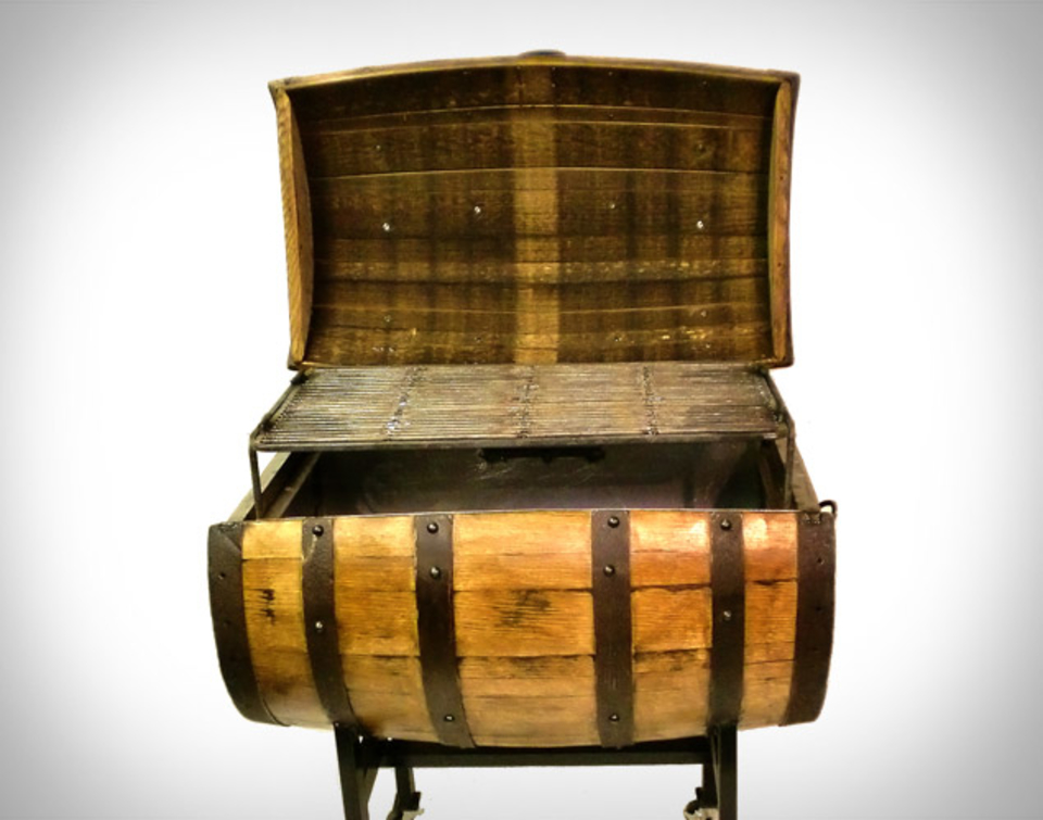 Whiskey Barrel Bbq Pit Uncrate