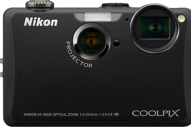 Nikon Coolpix S1100pj Projector Camera