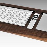 Combine Walnut Keyboard Trays