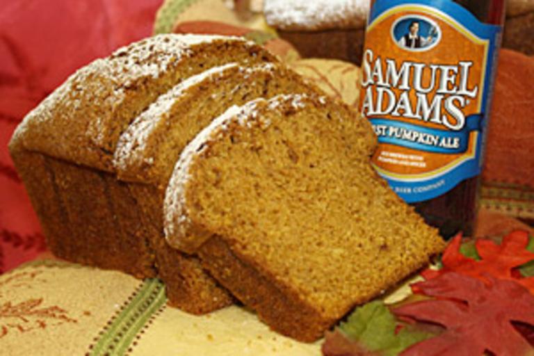 Sam Adams Harvest Pumpkin Ale Bread