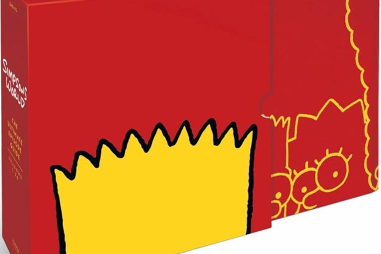 Simpsons World Book