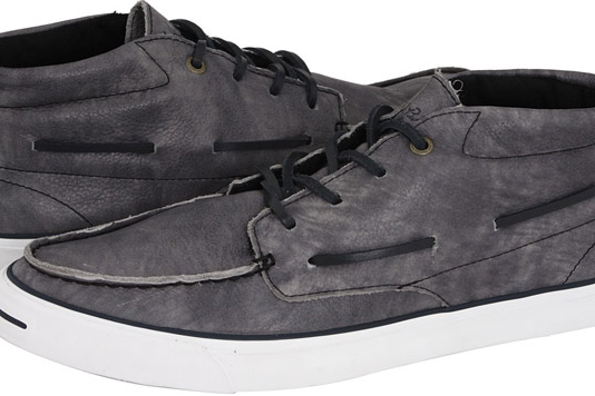 Converse Jack Purcell Mid Boat Shoe