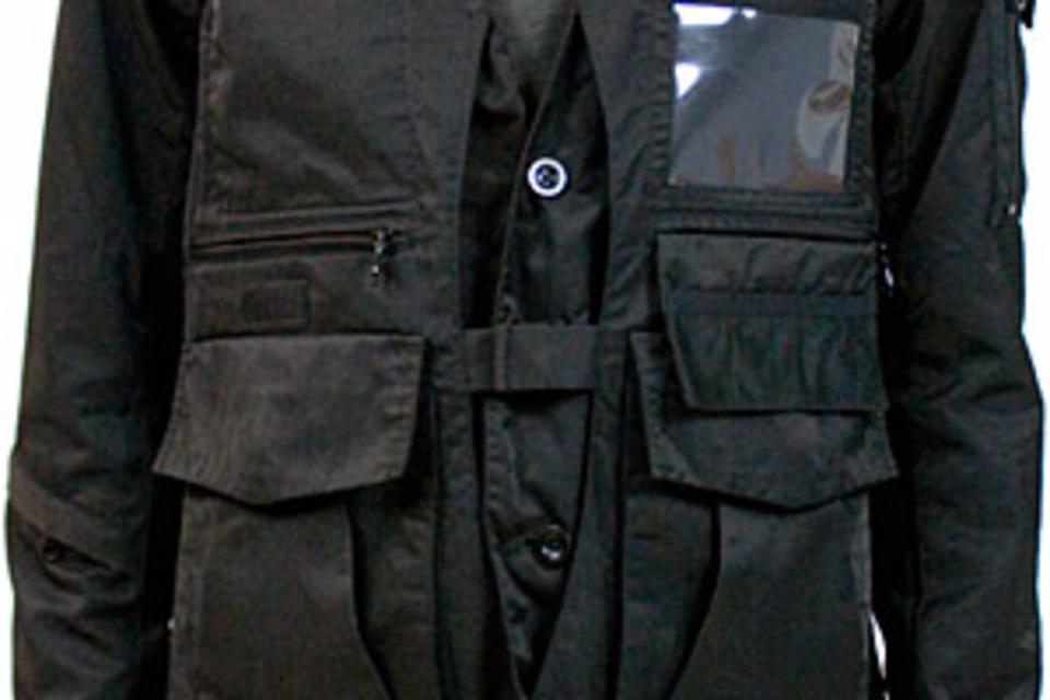 KZO Convertible Camera Jacket