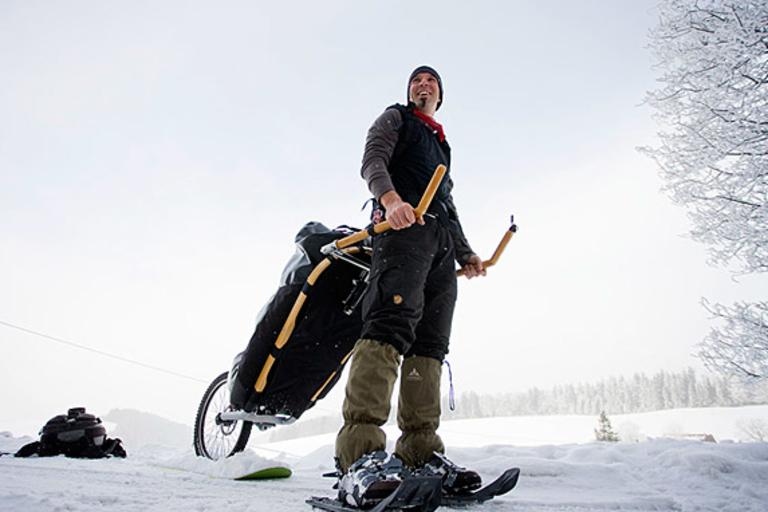 Monowalker Hiking Trailer
