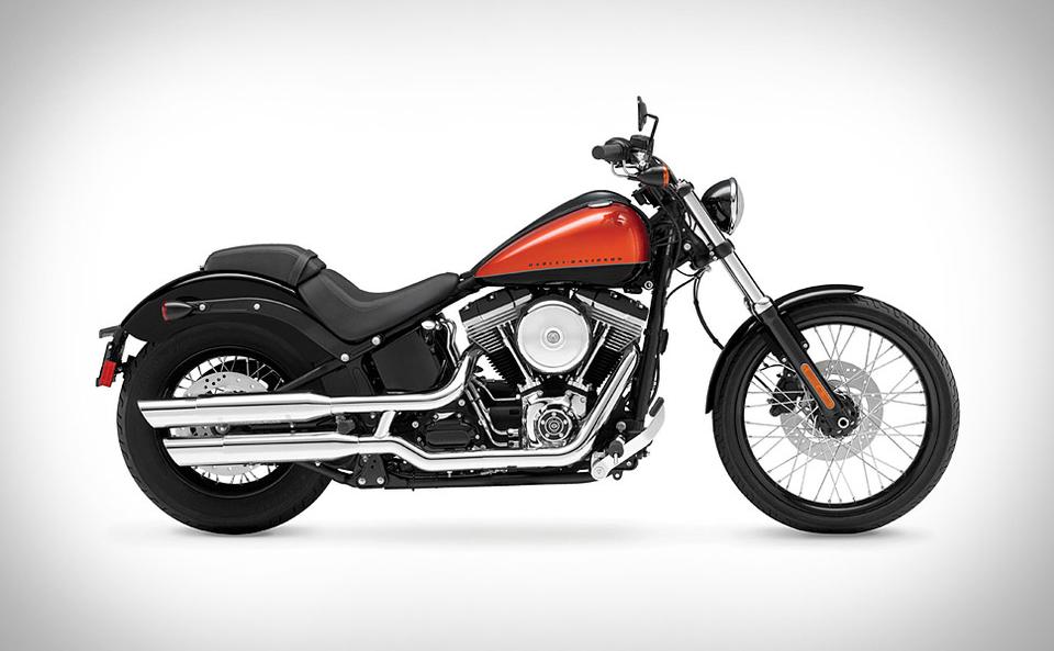 Harley-Davidson FXS Blackline Softail | Uncrate