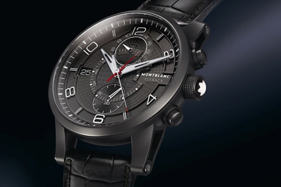 Montblanc Time Walker TwinFly Chronograph Watch