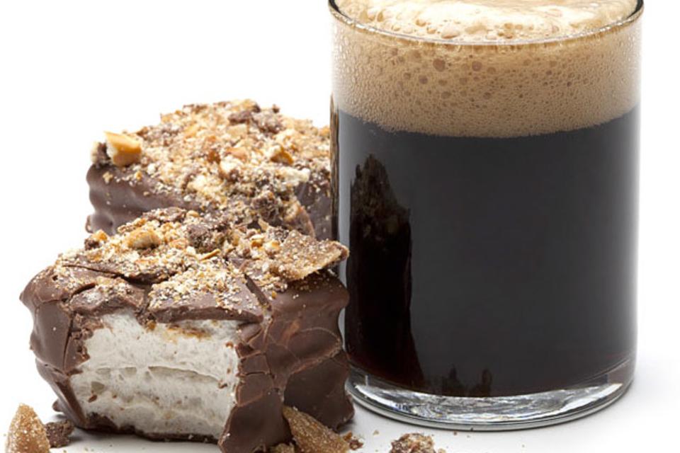 Beer & Pretzel Marshmallows