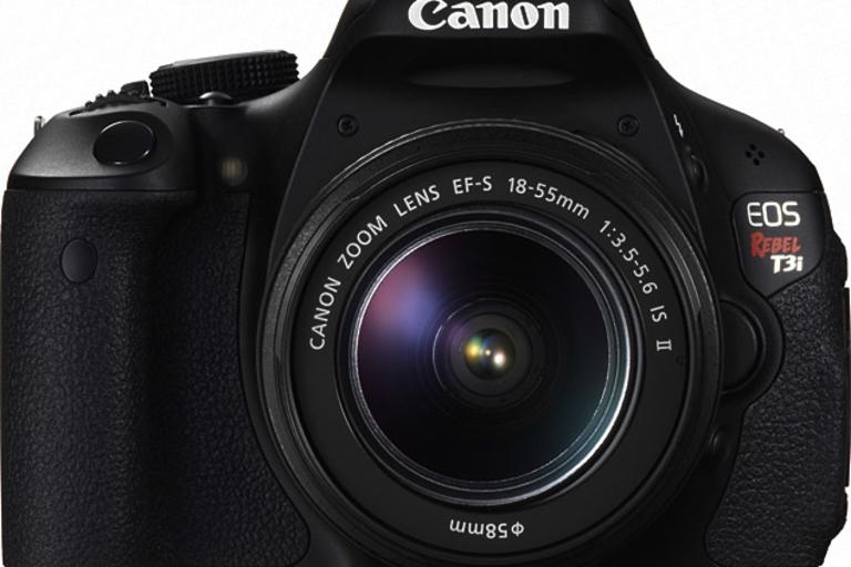 Canon EOS Rebel T3i Camera