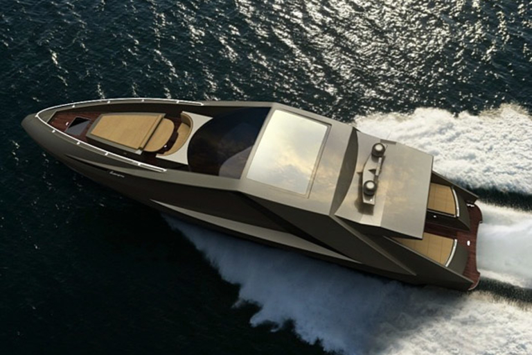 Mauro Lecci Lamborghini Yacht