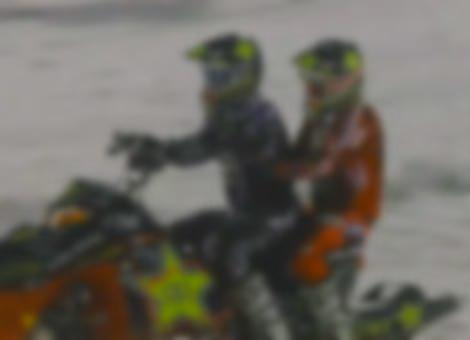 Snowmobile Backflip Brothers