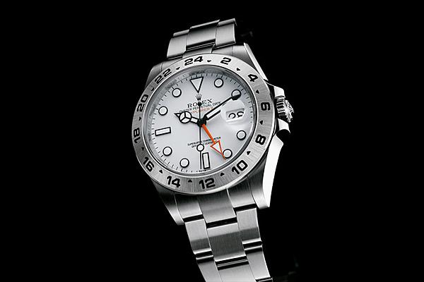 Rolex Explorer II Orange Hand Watch