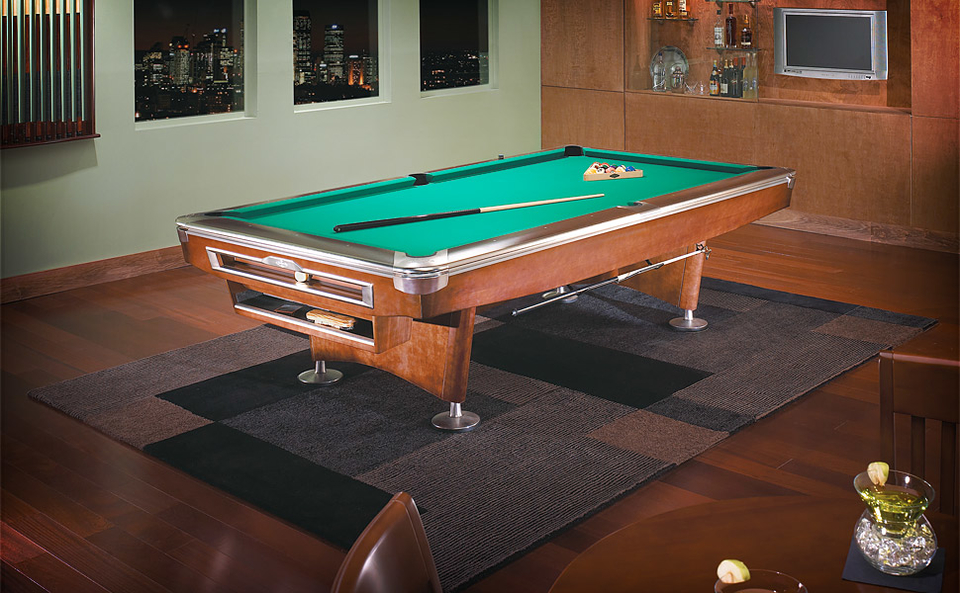 Brunswick Gold Crown V Pool Table Uncrate - Brunswick pool table reviews