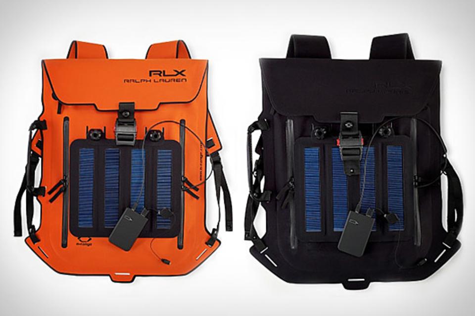 Ralph Lauren RLX Solar Panel Backpack