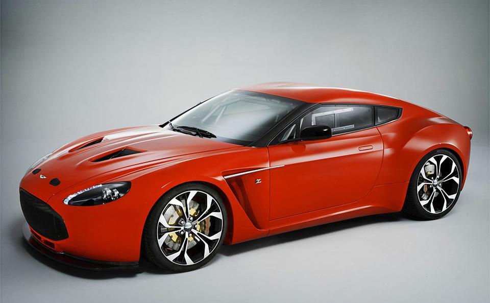 Aston Martin V Zagato Uncrate - Aston martin v12 zagato