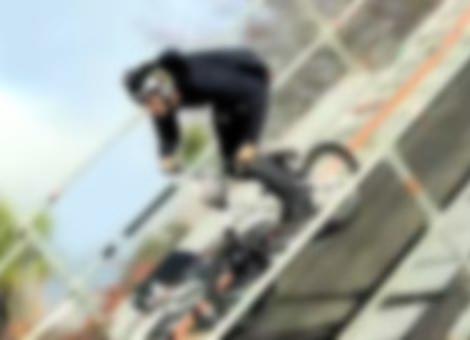 First BMX Triple Backflip