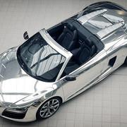 Chrome Audi R8 Spyder
