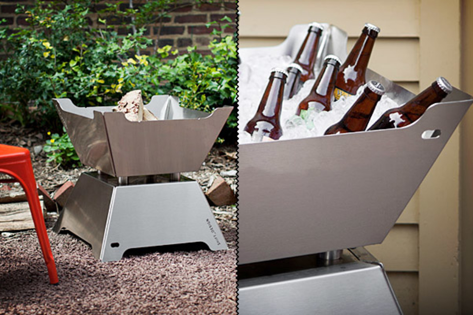 Funston Fire Pit Ice Chest