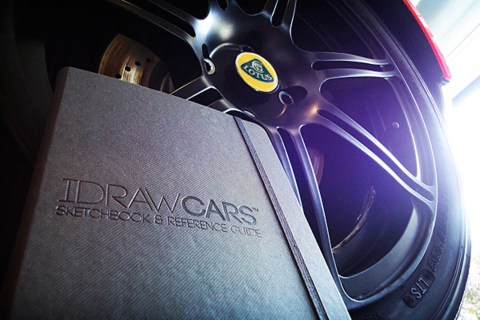 I Draw Cars Sketchbook & Reference Guide