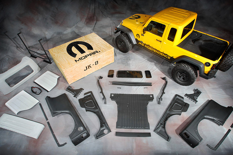 Mopar JK-8 Jeep Kit