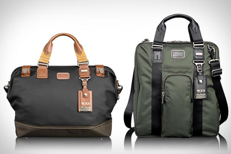 Tumi Alpha Bravo Bags