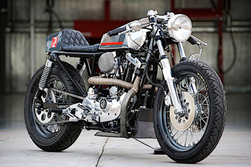 DP Customs Naked Cafe Motorcycle