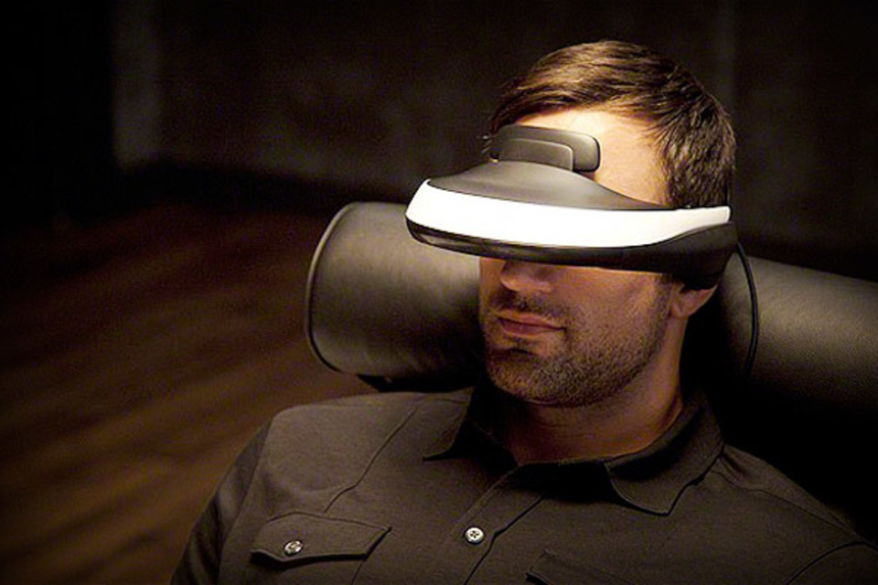 Sony 3D Head Mounted Display