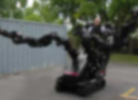 Crazy Robot Arms