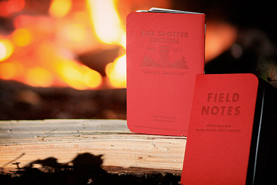 Field Notes Fire Spotter Notebook