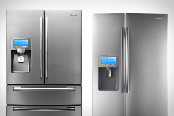 Samsung Touchscreen Appified Refrigerators