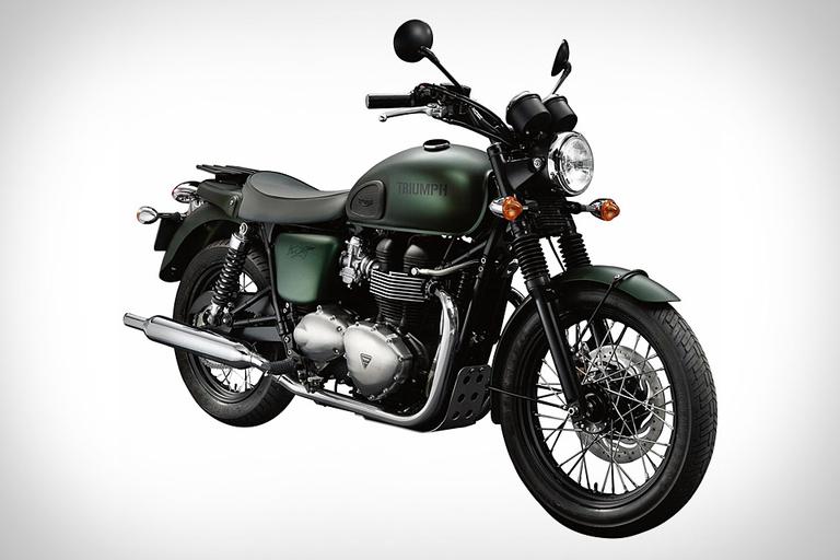 Triumph Bonneville T100 Steve McQueen Edition Motorcycle