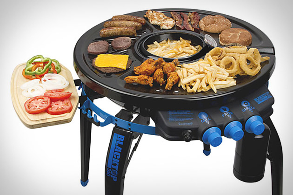 Blacktop 360 Grill-Fryer
