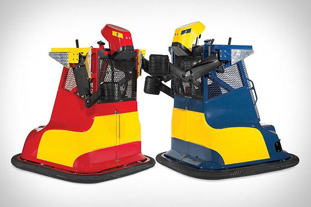 Robot Boxing Machines