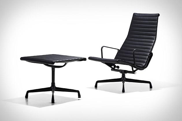 Eames Aluminum Lounge Chair