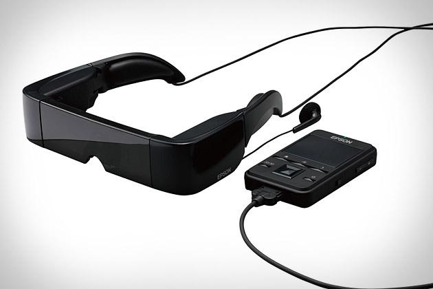 Epson Moverio Video Glasses