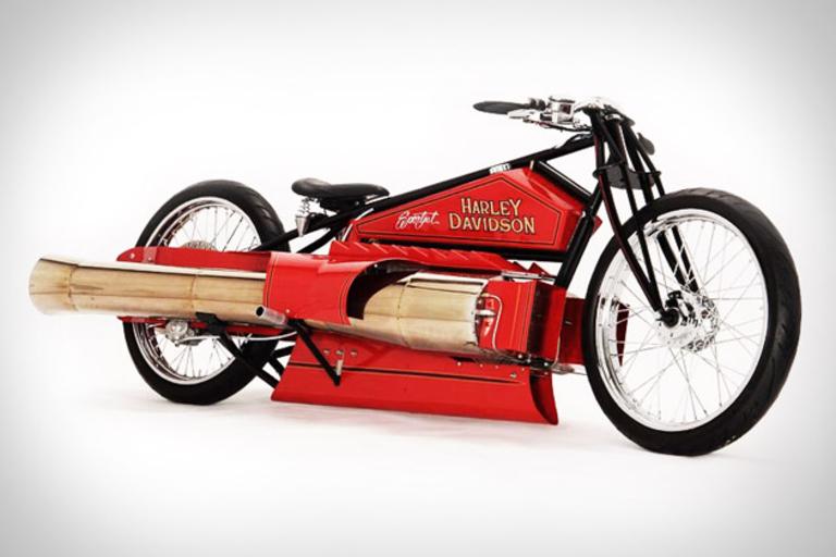 1929 Harley-Davidson Jet Engine Motorcycle