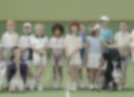 Pint-Sized Tennis Stars
