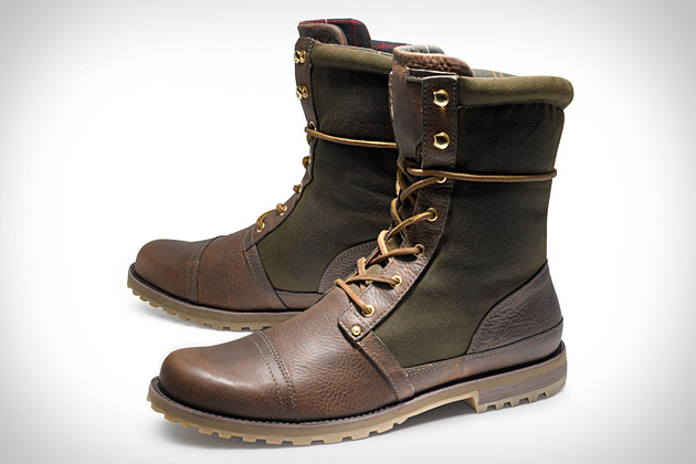Rockport x Barbour Breaktrail Boot