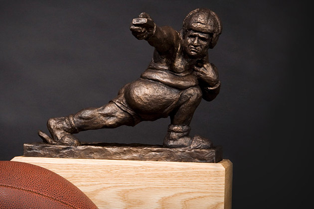 The Throwback Fantasy Football Trophy