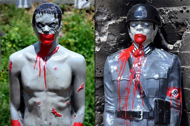 Tactical Bleeding Zombie Targets