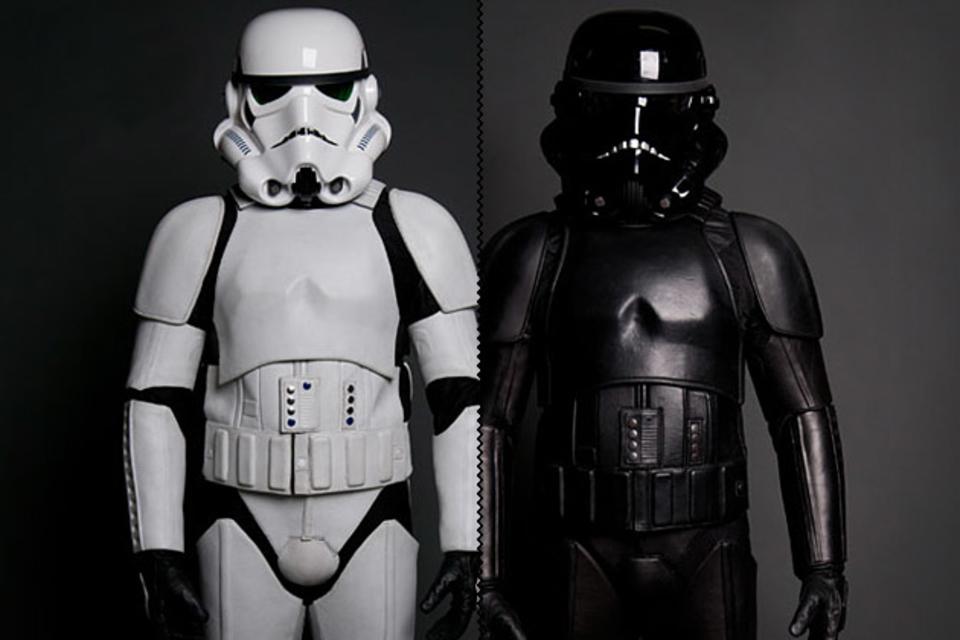 Storm Trooper Motorcycle Suit