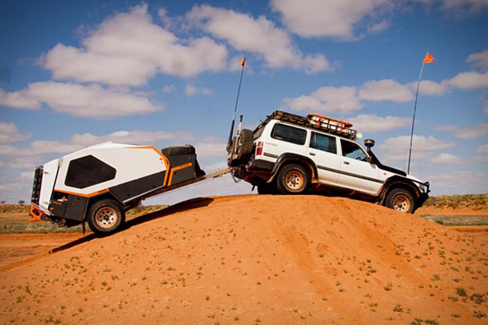 Track Tvan Camper Trailer