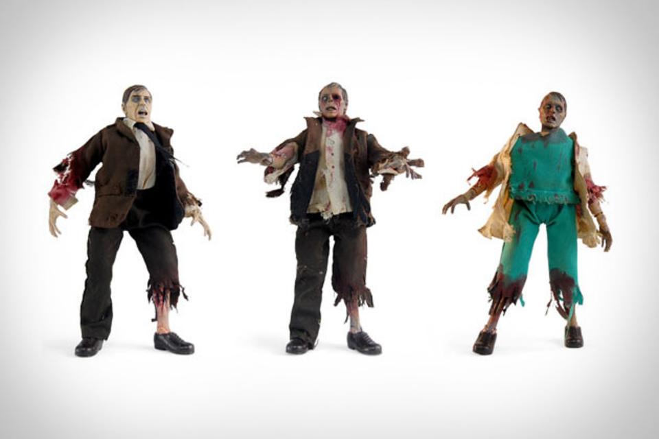 DIY Zombie Customizable Action Figure Kit